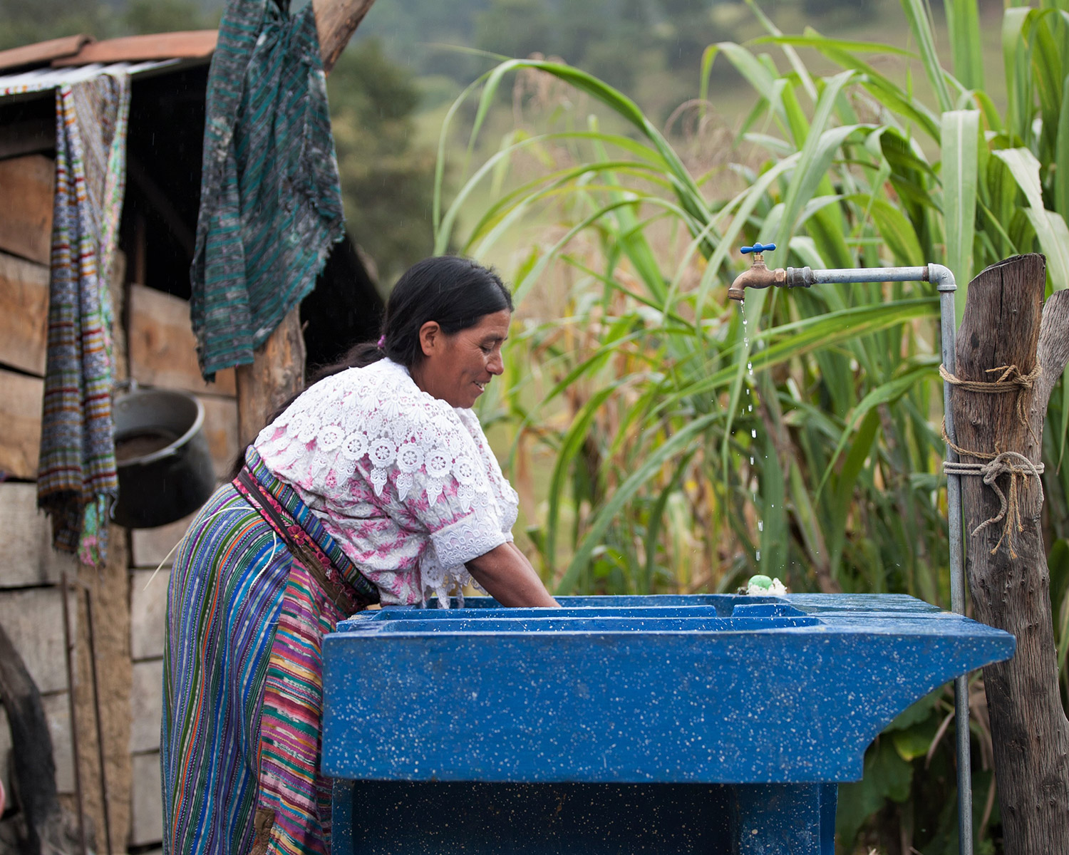 woman washing clothes | Clean Water in Guatemala | Where We Work | Water For People