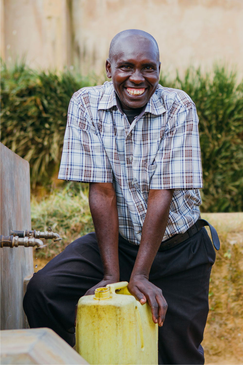 Meet Simon | Clean Water in Rwanda | Where We Work | Water For People